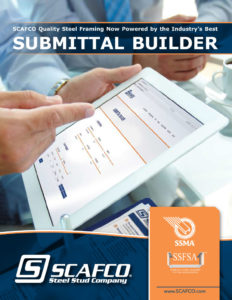 SCAFCO Submittal Builder