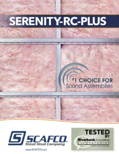 SCAFCO Serenity-RC Sound Channel