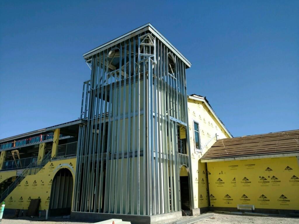 San Benito High School Scafco Steel Stud Company